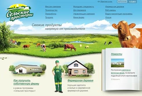 Локализация сайта  «Сельские просторы»