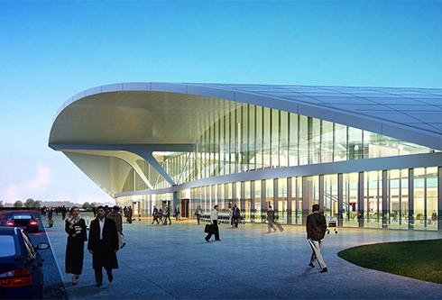 Устный последовательный перевод при осмотре нового терминала Международного аэропорта «Курумоч»